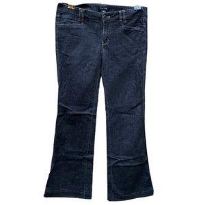 WhiteHouse/BlackMarket trouser leg jeans sz 6
